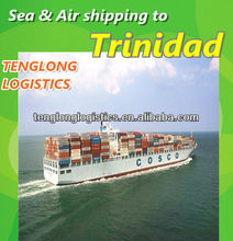 open top cargo containers to Port of Spain and Port Lisas of Trinidad from Shenzhen Dongguan