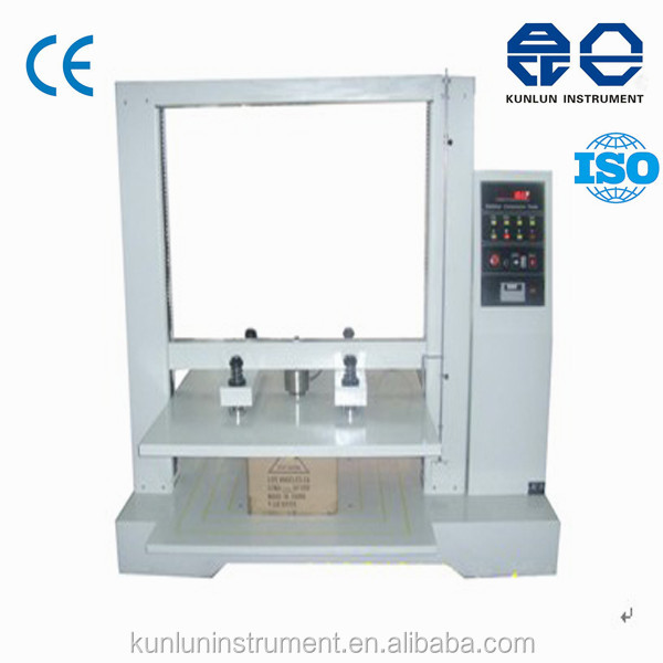 Carton Box Compression Strength Tester/Carton Compression Testing Instrument/Compression Strength Testing Machine