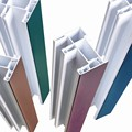 zhongde lead free high quality color extrusion upvc profile for windows and doors