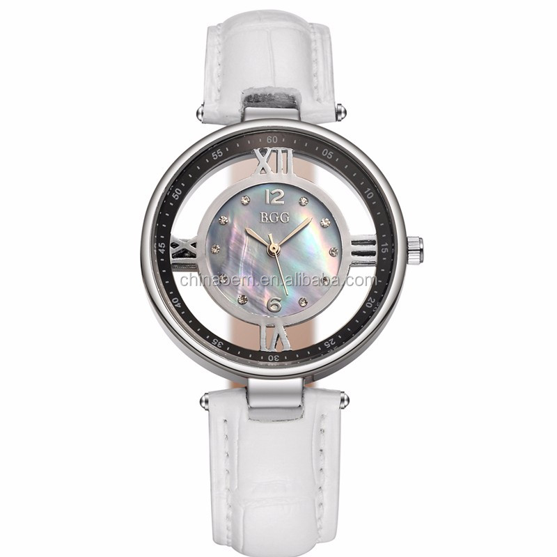 Newest Women's Fashion Dress Watches Luxury Hollow Ladies Quartz Watch Women
