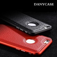 Danycase 2014 New Design Hot Selling Universal Two Mobile Phone Leather Case For Iphone