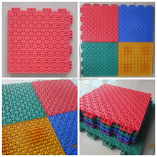 Better than rubber flooring PP plastic Volleyball sports court covering flooring