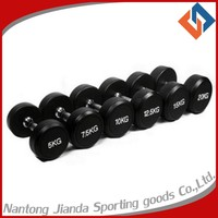 gym dumbbell set with Crossfit Weight Lifting Training