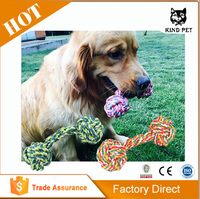 Knotted Rope Tugger Dog Toy