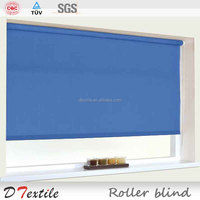 Low price 100% blackout roller blind fabric window shutter for office and hotel simple curtain design