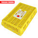 plastic chicken transport cage chick transport box for live poultry