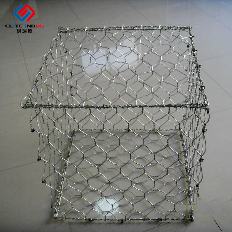 Iron Wire Mesh Six Angle Net Water Conservancy Project Stone Cage Net