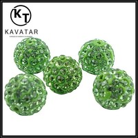 Green cheap glass seed bead on sale