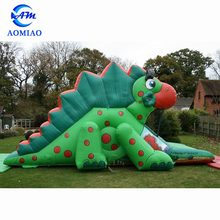 Hot selling 0.55mmPVC durable cheap commercial dry jumping inflatable slide for kids