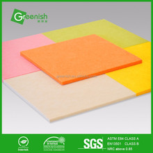 Customized sound decreasing acoustic panel for outdoor