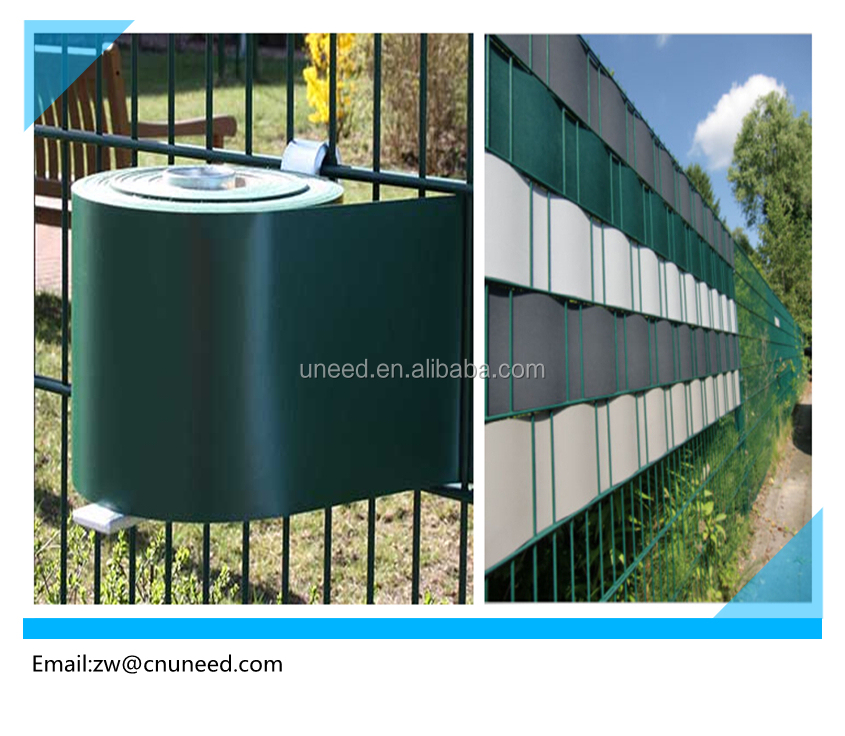 Anti uv PVC Strip Screen Fence for Garden Protection