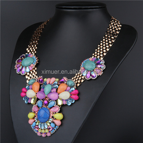 2014 fashion jewelry,Latest model fashion necklace,Imitation diamond jewelry
