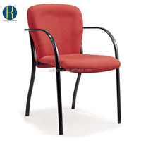 New Red Fabric Office Furniture Meeting Room Chair/Side Guest Visitor Chair/Waiting Room Office Chairs HY1038-1