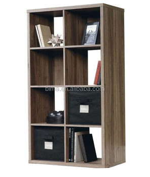 solid wood simple design bookcase