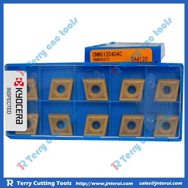 Kyocera turning insert WNMG080412-PS CA5525 for steel, wholesale price, high precision