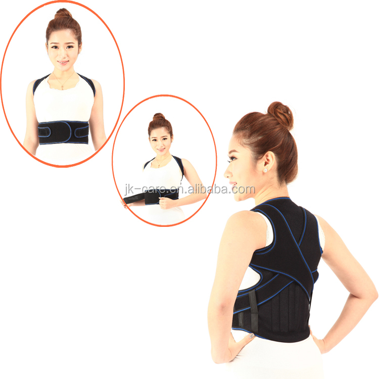 Best selling Shoulder / back pain relief belt posture corrector Back support vest