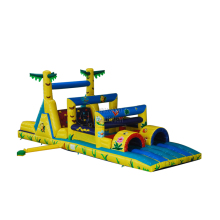 inflatable obstacle park, inflatable obstacal slide combo bouncer for kids commercial hire