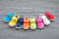 Canvas casual baby shoes with high quality soft insole wholesale china manufacturer