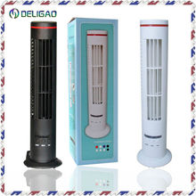 Tower shaped USB rechargeable mini portable 5v dc air cooler