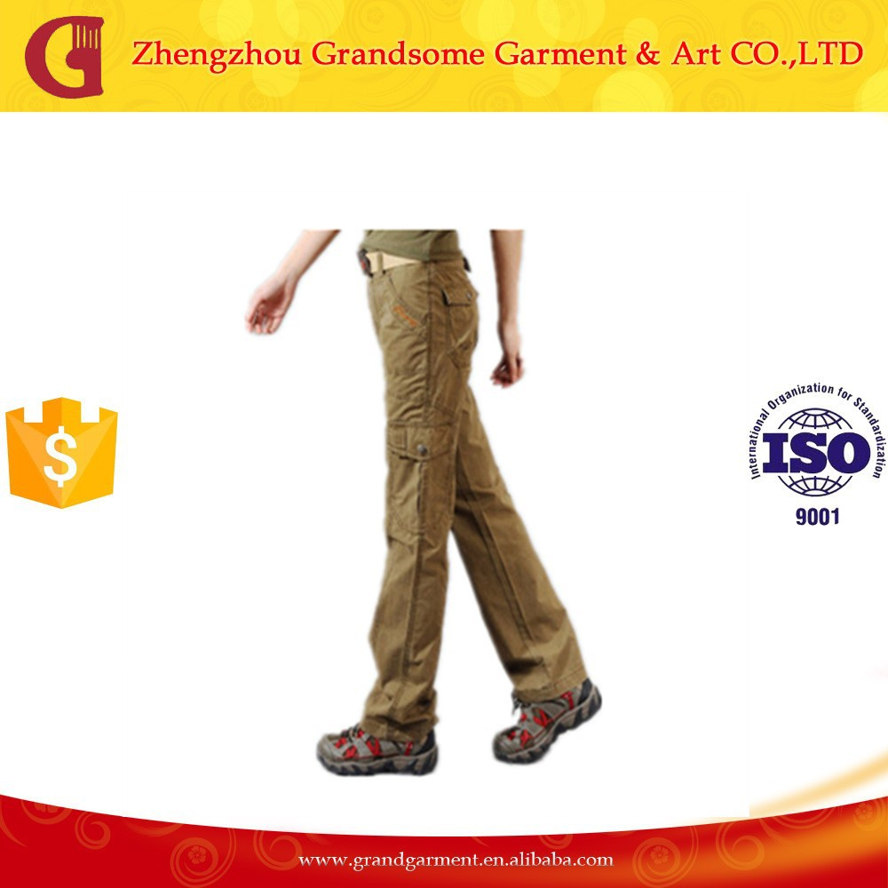Alibaba Multi Pockets Cargo Working Pants Wholesale Work Cargo Trousers