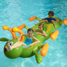 Inflatable Caterpillars Pool Floats Inflatable worm Swimming Rings Air Rafts Swim Pool toys for kids