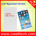 Original china supplier mobile phone Xiaomi Max 256GB unlocked 4G mobile cell smart phone