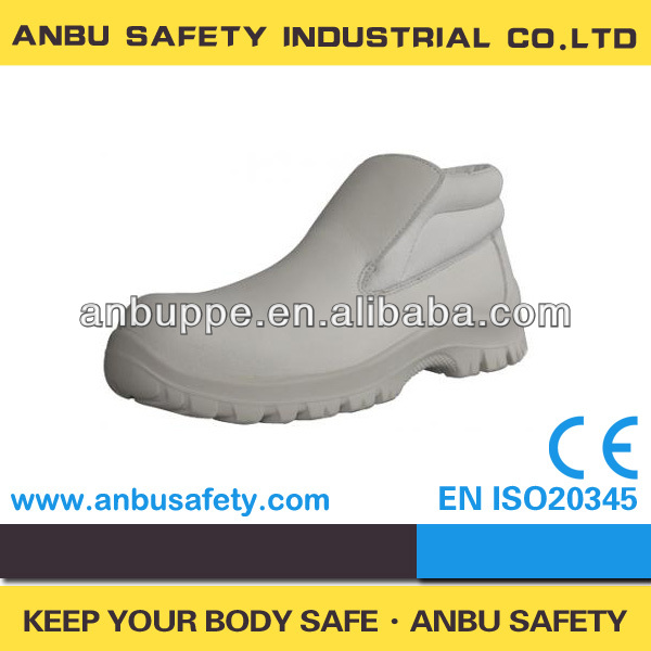 light weight PU injection sole white sanitary non-dust room used medical shoes