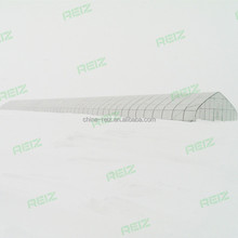 10x50m 10x100m 20x50m long life use strong poly tunnel commercial greenhouse