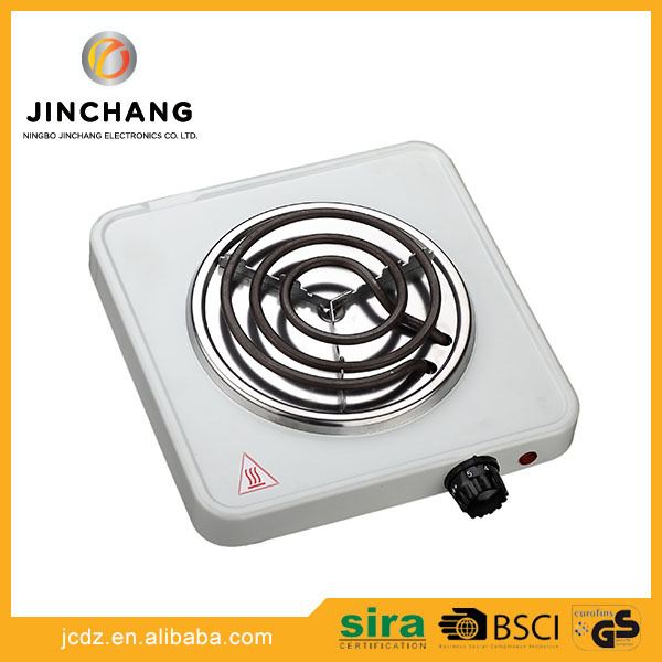 Household small appliance 1000w electric cookers single stove burner