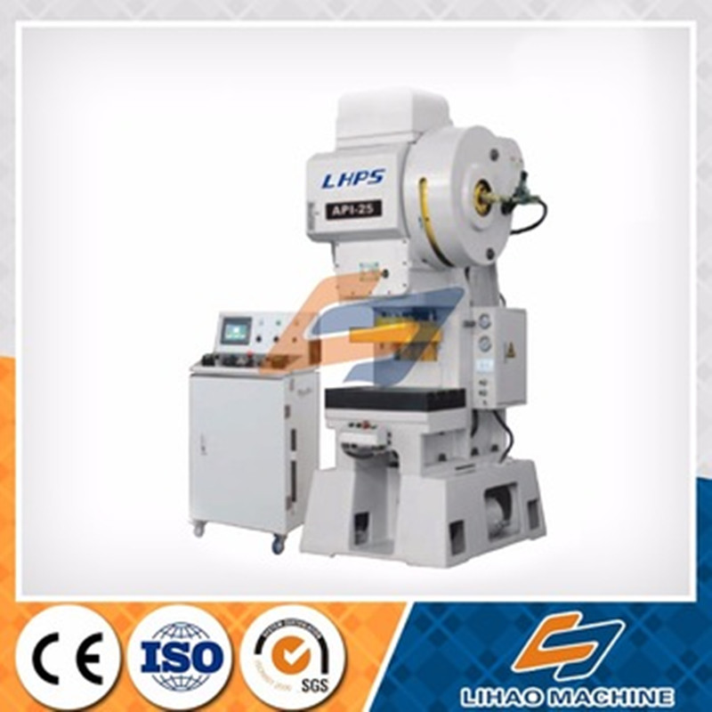 2016 Modern Stamping Plate Can Automatic Snap Mechanical Power Servo Lateral Second Hand Oil Press Machine