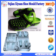 High Quality Eva Garden Shoes Mould, Eva Garden Shoe Plastic Injection Mould, bi-Color Eva Garden Shoes Clog moulds Maker