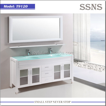 Classical Design Solid wood Bathroom Vanity T9120
