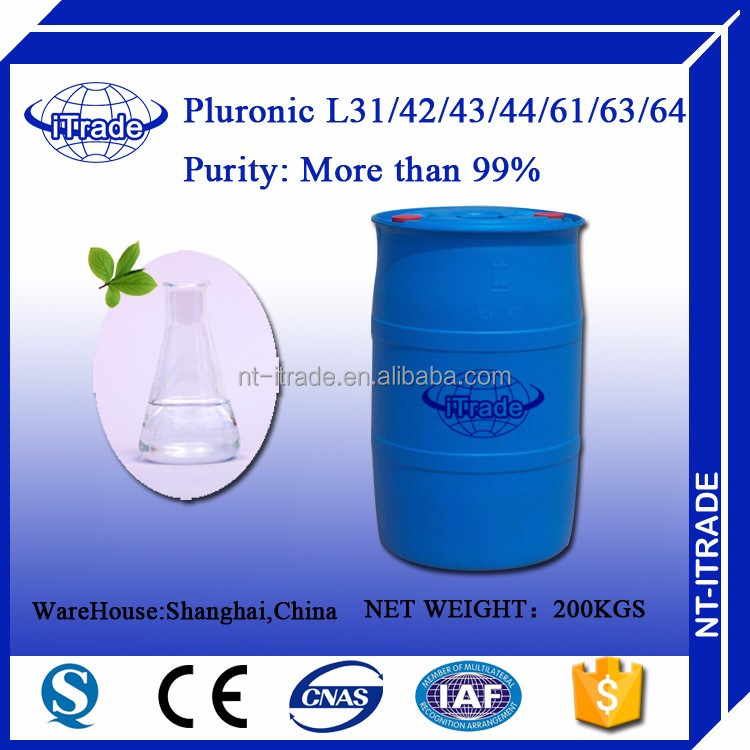 Free sample Surfacant Pluronic Polyoxyethylene-polyoxypropylene Block Copolymer <strong>L</strong>-43