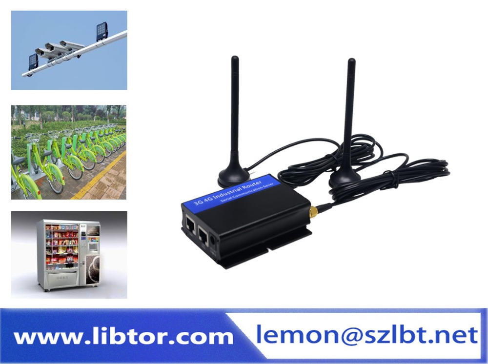 Good quality m2m 3g gsm wireless vpn cctv atm 4g LTE WCDMA Cellular industrial router