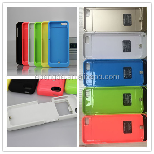 2200mah For iPhone 5 Battery Charging Power Case,colorful 2200mah For Apple iPhone 5 battery case,for iphone 5 charger case