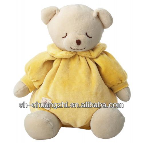 plush organic cotton teddy bear sleepy fancy toys