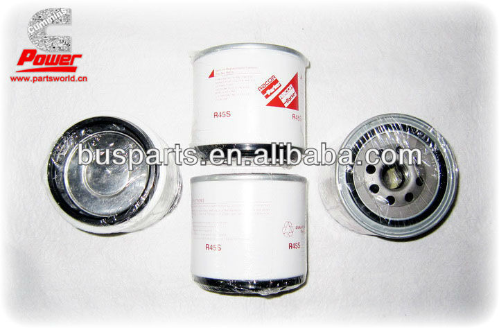 HOT SALE!!! High effiency best water filter WF2096 for bus, diesel used on Yutong bus