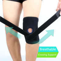 Neoprene Sports Open Patella stabilizers compression sleeve knee brace support
