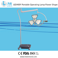 Mobile LED shadowless operation light hospital surgical lamp cold source illumination LED400Y