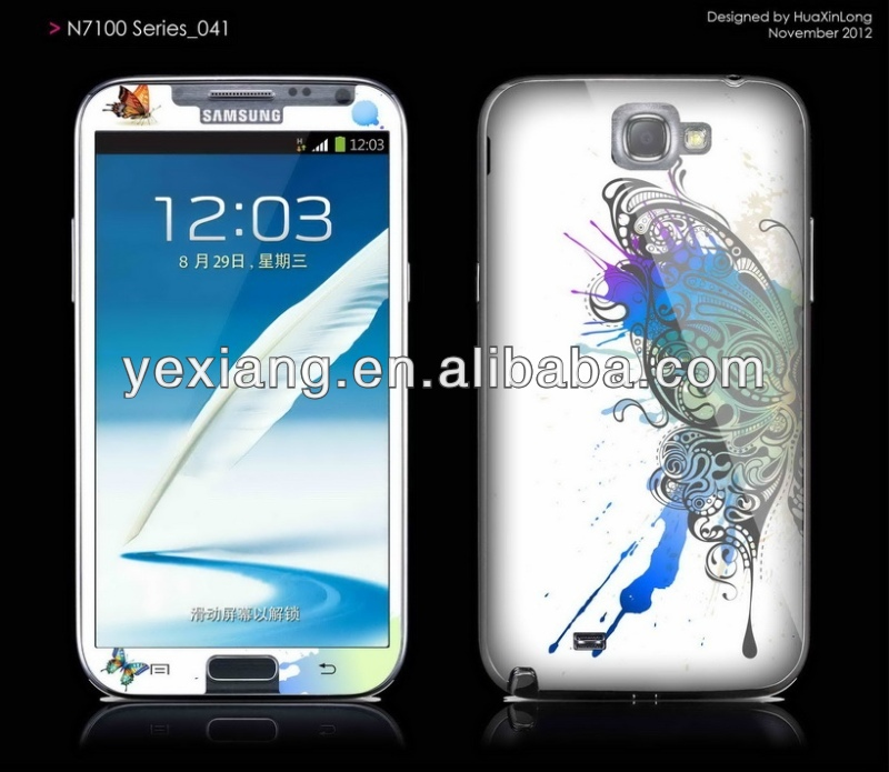 Factory low price High quality for samsung galaxy young s3610 screen protector