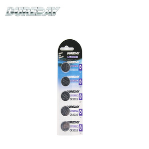 No leakage 3.0 volt cr2025 lithium button cell battery