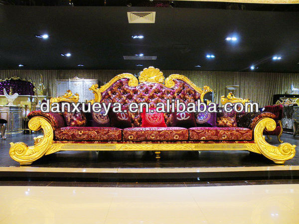 2013 New design hand carved sofa set ,Sectional sofa