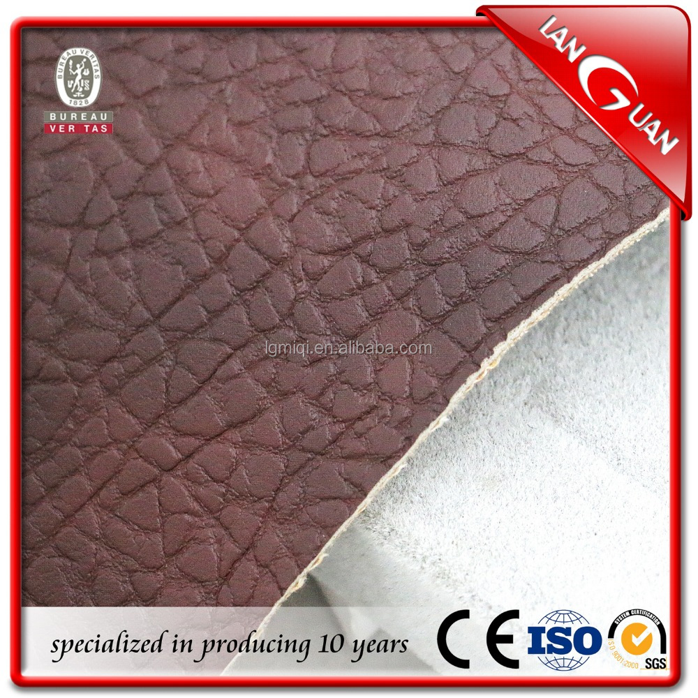 china supplier sofa artificial pu leather
