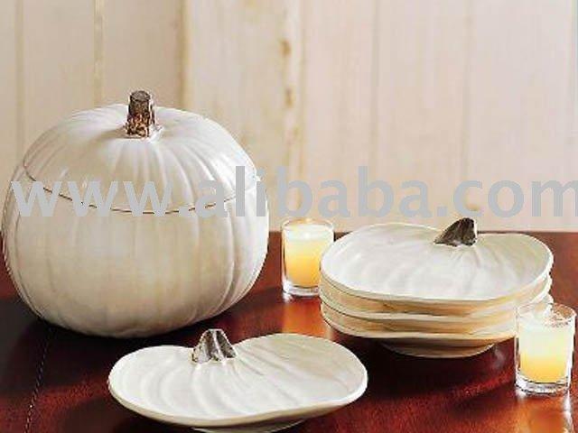 Pumpkin Plates & Tureen
