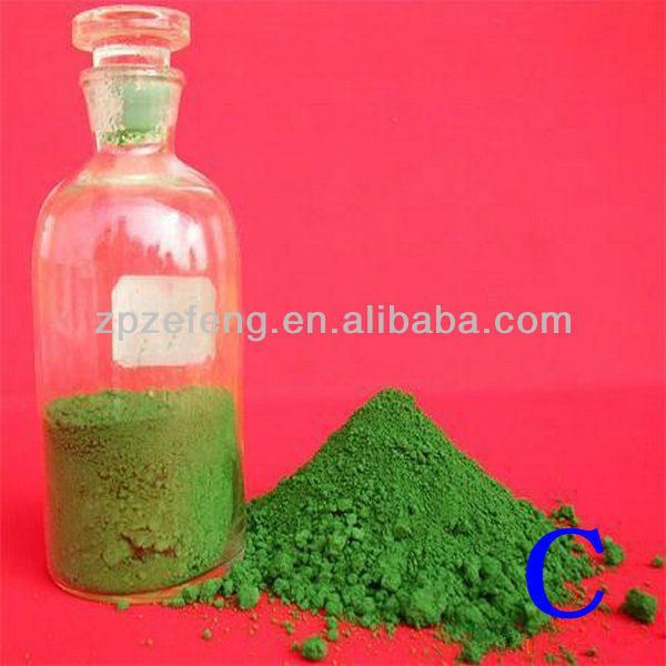 Metallurgical grade Chrome oxide green 99% Cr2O3