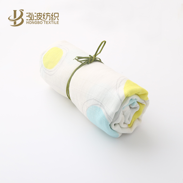 baby muslin cotton or bamboo fiber air conditioner blanket
