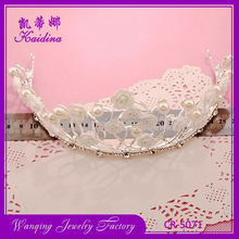 Newest sale attractive style tiaras crowns hair accessory