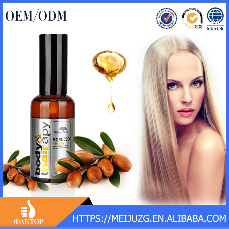 Morocco Argan Oil for Hair Treatment