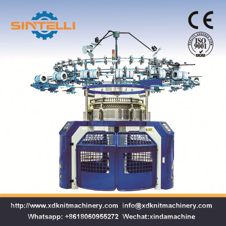 High Speed Jacquard Cap Stocking Circular Knitting Machine