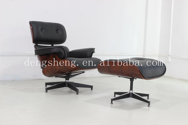 Foshan Furniture Wholesale Lounge Chair With Footrest Pu